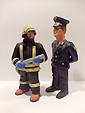 Ugniagesių statulėlės